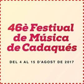 FESTIVAL DE CADAQUÉS